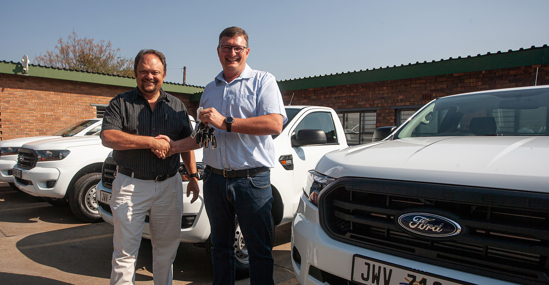 Kishugu Fleet Solutions delivers vehicles for VAI Project